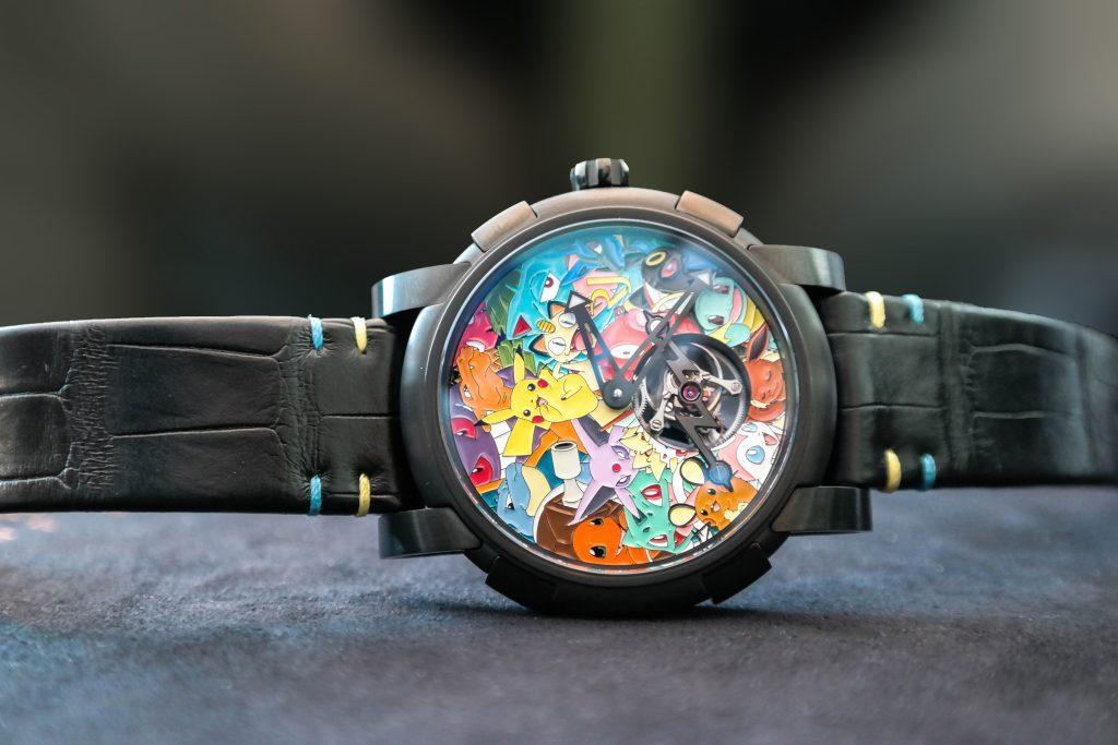 RJ-Romain-Jerome-pokemon-horloge