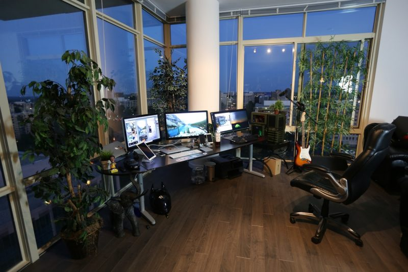 home-office-planten-thuiskantoor