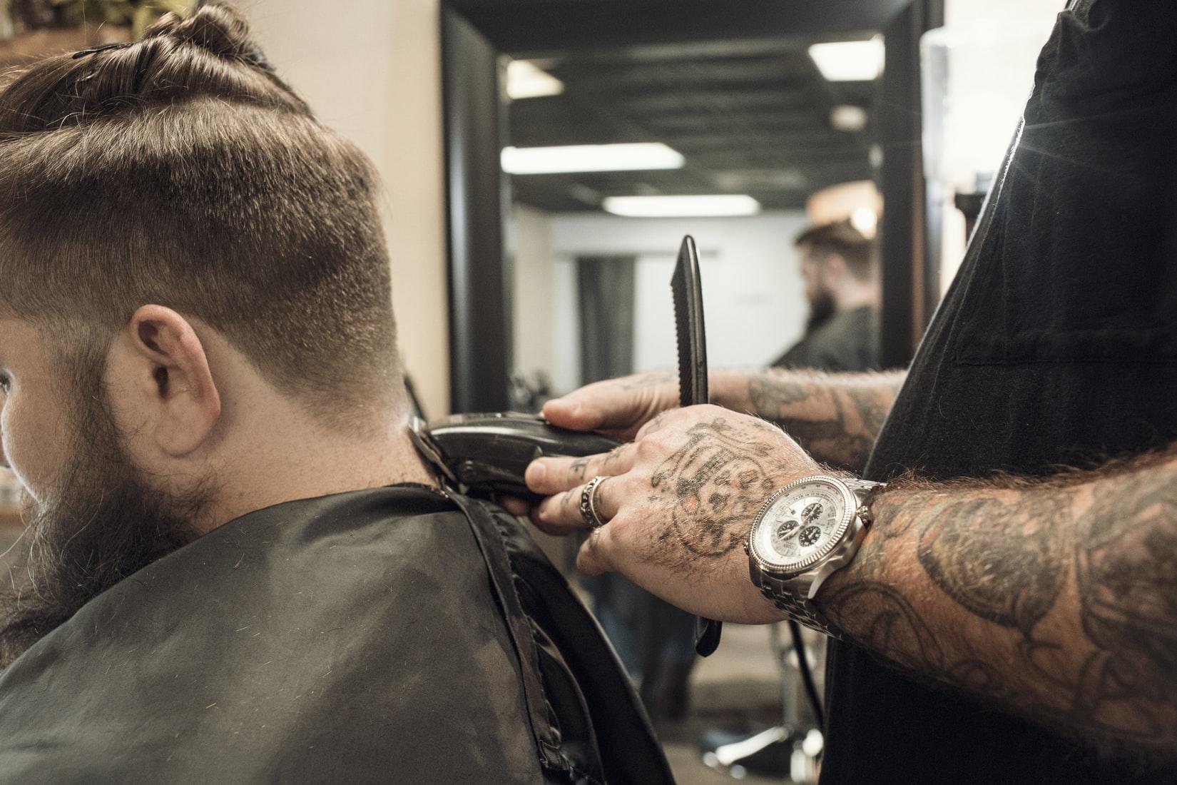 mannen-kapper