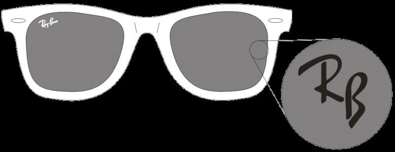ray-ban-glas-logo