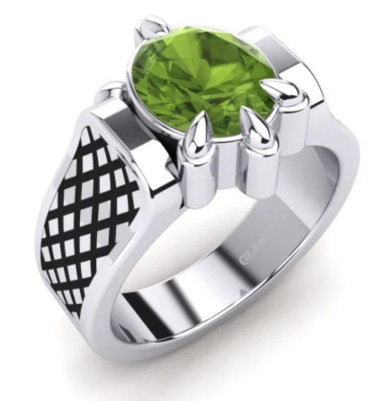 Peridoot-ring