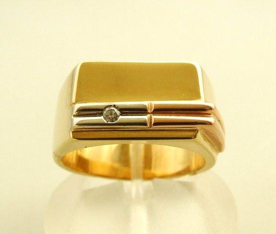 gouden-ring-man