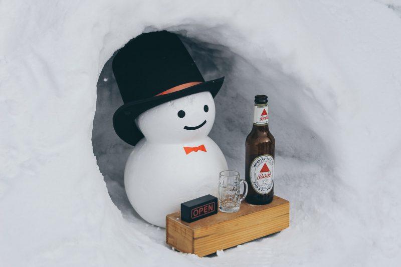 sneeuw-drankje
