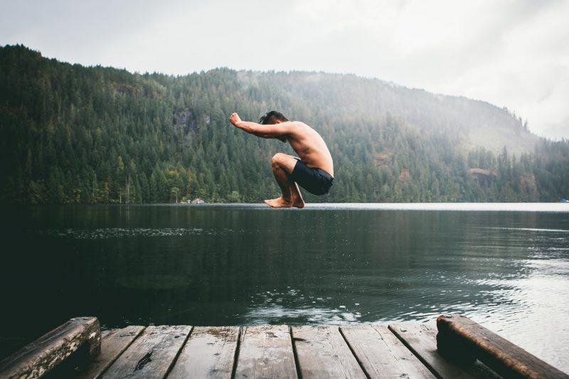 great-canel-lake-canada-zwemmen