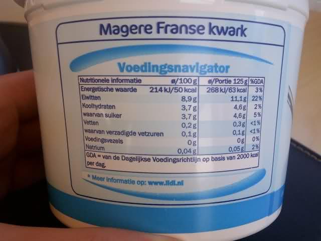 magere-kwark-voedingswaarde