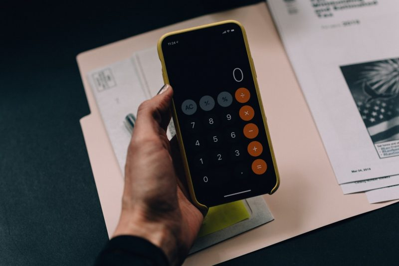 rekenmachine-telefoon