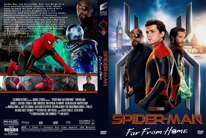 Spider-Man- Far From Home (2019)