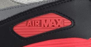 nike air max logo zijkant
