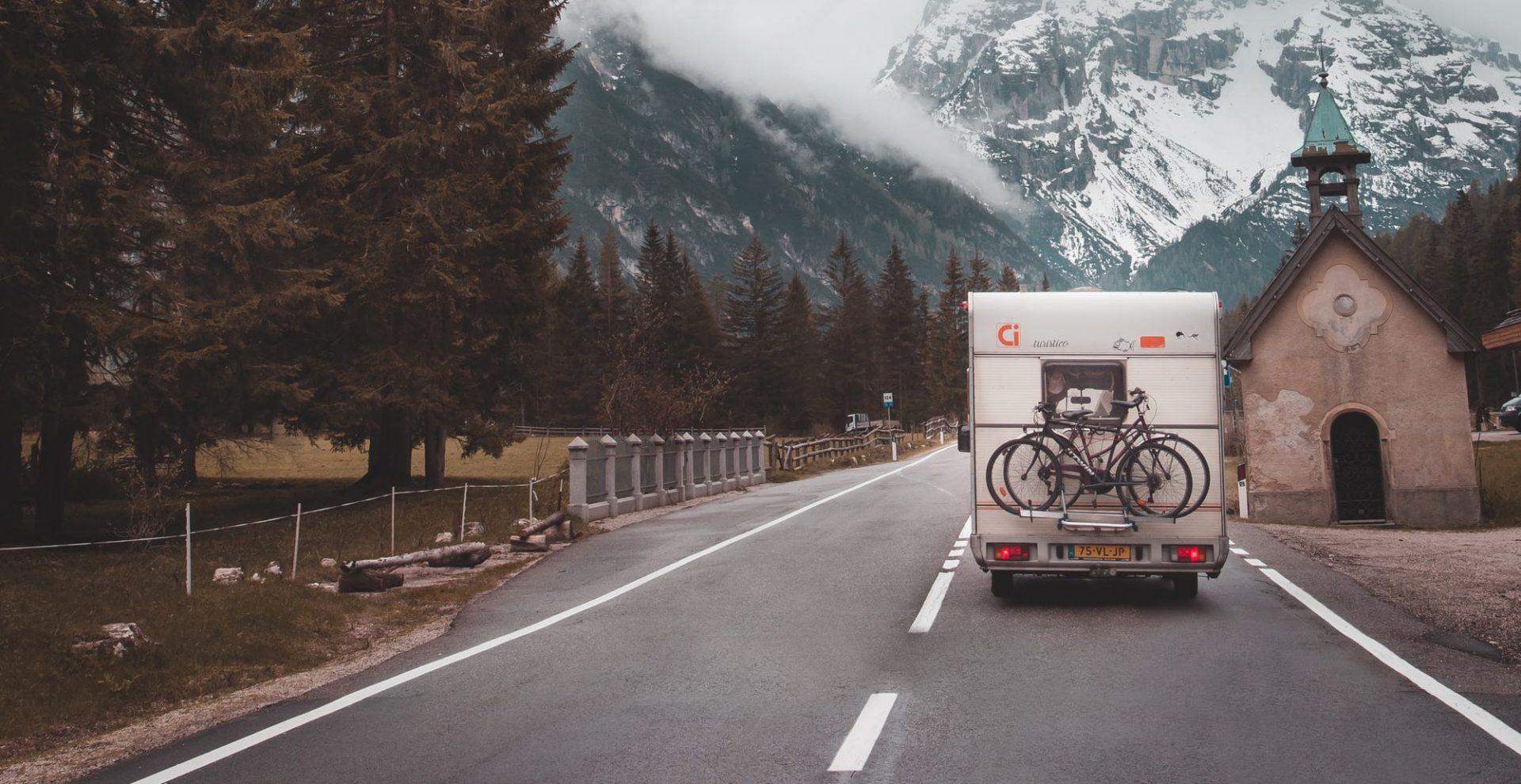 caravan-fietsen