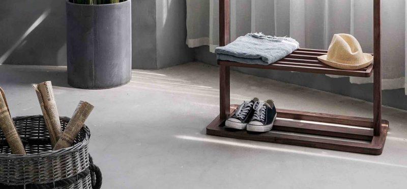 houten-schoenenrek