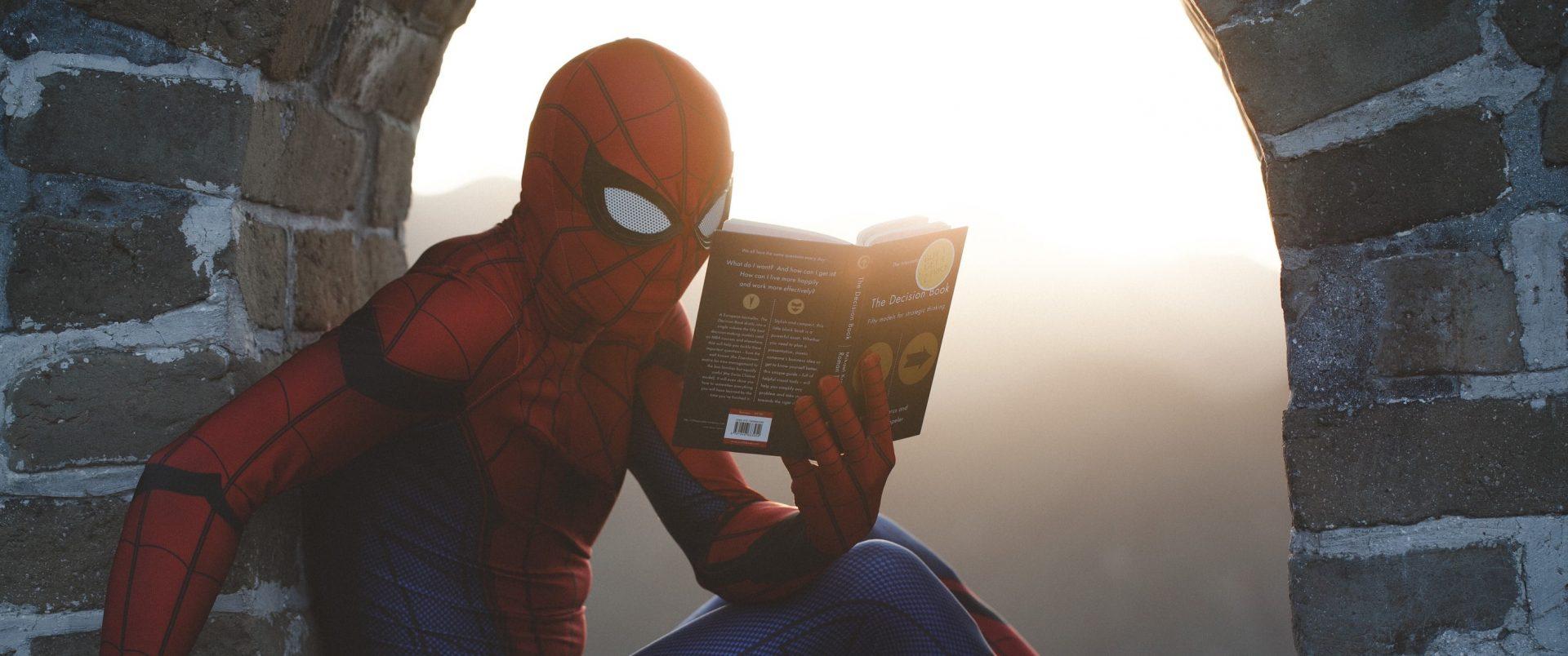 boek-lezen-spiderman
