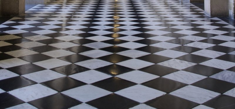 zwart-wit-vloer