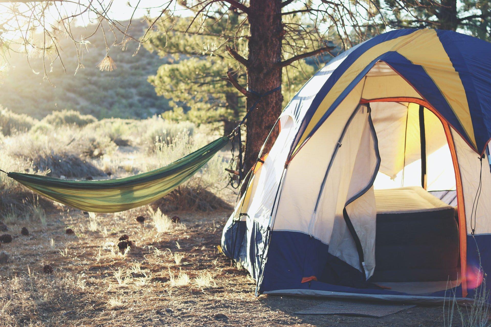 kampeertent-hangmat