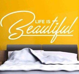 life-is-beautiful-muursticker-slaapkamer